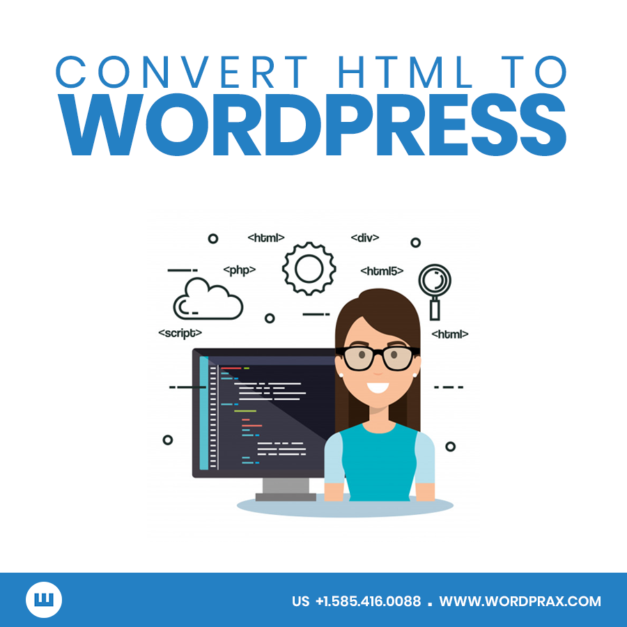 Convert Website to WordPress
