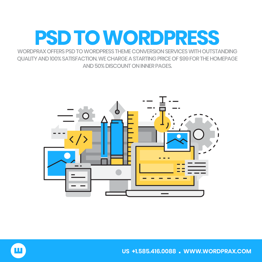 PSD to WordPress theme